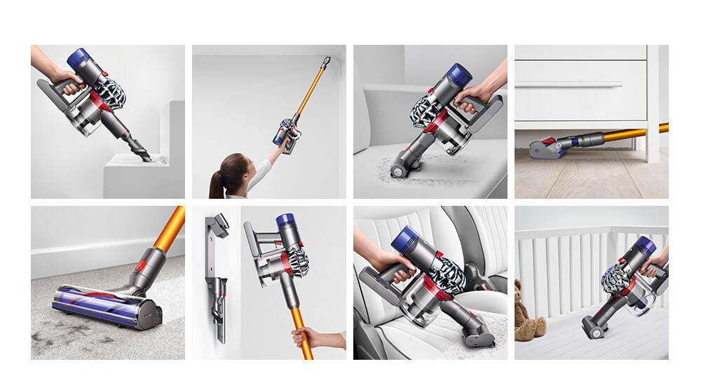 Explore Dyson V8 features